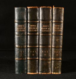 1840 An Inquiry into into the Nature and Causes of the Wealth of Nations