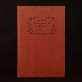 1908 Die Lagerung der Atome Im Raume J.G. Van't Hoff Illustrated Third Edition