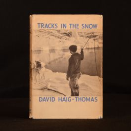 1939 First Edition Tracks in the Snow Davis Haig-Thomas Scarce Illustrated Dustwrapper