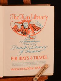 1912 2vol Courtship and Matrimony Holiday and Travel Fun Library Illus Hammerton