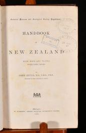 1886 Handbook of New Zealand