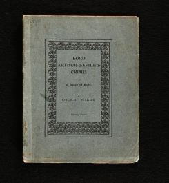1904 Lord Arthur Saville's Crime