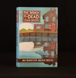 1989 The Wench is Dead Colin Dexter First Edition Inspector Morse Signed