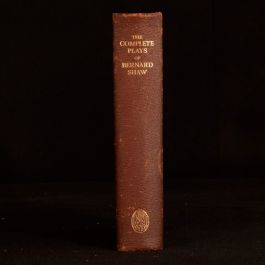 1931 The Complete Plays George Bernard Shaw Pygmalion Saint Joan First Thus
