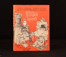 1960 Russia For Beginners Ronald Searle Alex Atkinson First Edition Illus