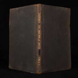 1895 Report On The Total Eclipse Of The Sun