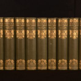 1911 8 vols in 12 Novels of the Sisters Bronte Thornton Edition Scott Illustrated