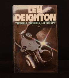 1976 Twinkle, Twinkle, Little Spy Len Deighton First Edition Dustwrapper