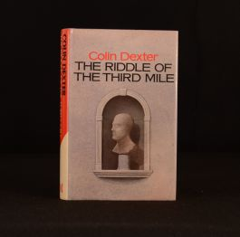 1983 The Riddle of the Third Mile Colin Dexter First Edition Signed Morse