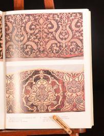 1987 Russian Embroidery and Lace L Yefimova and R Belogorskaya Illus DW Slipcase