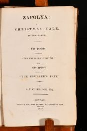 1817 Zapolya: A Christmas Tale, in Two Parts
