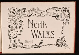 c1900 Souvenir of Blackpool North Wales