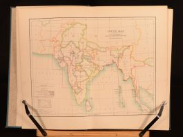 1894 Atlas of India Containing Sixteen Maps & Complete Index