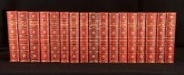 c1908 17vols The Oxford Thackeray Illustrated George Saintsbury Complete Set