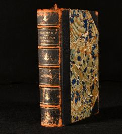 c1891 The History of the Caliph Vathek and European Travels