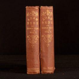 1859 2vol Adam Bede Sixth Edition Original Cloth Binding George Eliot Novel