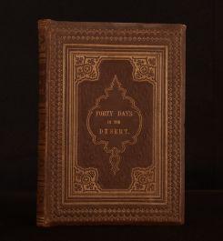 1849 Forty Days in the Desert Track of the Israelites William Bartlett Illus
