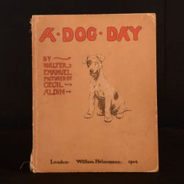 1904 A Dog Day or The Angel in the House Walter Emanuel Cecil Aldin Illustrated