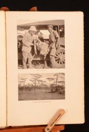 1927 Chronicles of An African Trip George Eastman Illustrated Letters Travel Africa