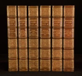 1904 6vols The Poems Algernon Charles Swinburn Limited Edition Bumpus Binding
