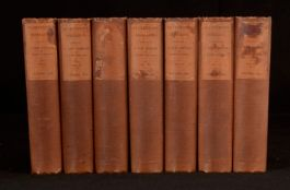 1839 7vl The History of the Rebellion and Civil Wars in England Edward Clarendon