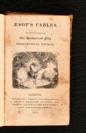1821 Aesop's Fables