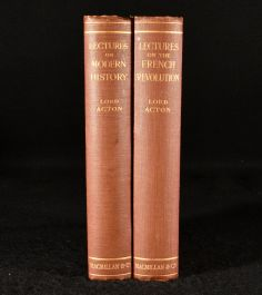 1925 Lectures on the French Revolution and Lectures on Modern History