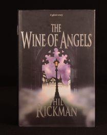 1998 Phil Rickman The Wine of Angels First Edition Novel with Dustwrapper