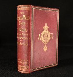 1877 The Prince of Wales Tour a Diary in India