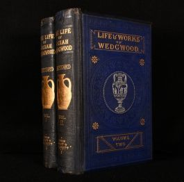 1865-6 The Life of Josiah Wedgwood From His Private Correspondence and Family Papers