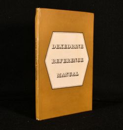 1955 Dexedrine Reference Manual