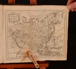 1782 Modern Gazetteer Short View of the World Thomas Salmon Illus Folding Maps
