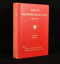 1935 Baily's Hunting Directory 1935-1936
