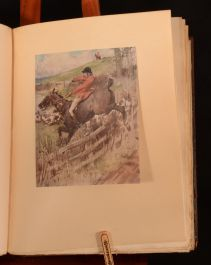 1908 Hunts with Jorrocks Surtees G. Denholm Armour Limited First Edition Signed Illustrated