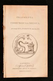 1784 Fragmenta Chirurgica and Medica