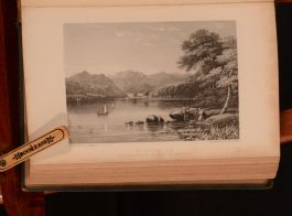 1848 British Angler's Manual The Art of Angling T. C. Hofland Illustrated