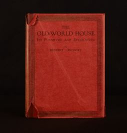 1924 The Old-World House Herbert Cescinsky 1 Volume Only Illustrated 1st