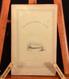 1843 The Grasshopper's Fall Louisa Budgen Illustrated Very Scarce