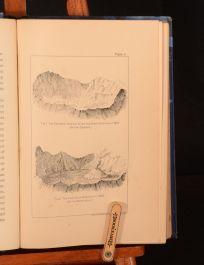 1889 Mount Vesuvius Pompeii J. Logan Lobley Illustrated Author's Presentation