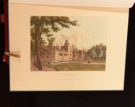 1958 Public Schools of Charterhouse Arrowsmith Author's Copy Illus Colour Plates