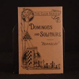 1921 Dominoes and Solitaire by Berkeley Illustrate The Club Series W. H. Peel