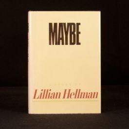 1980 Maybe A Story Lillian Hellman First Edition Fist Impression Dustwrapper