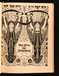 1897 Guild of Women Binders The Song of Solomon
