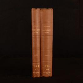 1913-15 2vol Catalogue of Mesozoic Plants British Museum Cretaceous Flora M C Stopes