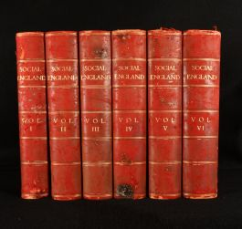 1898 Social England a Record of the Progress of the People