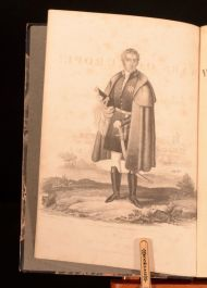 1838 The Wars of Europe or Annals of Military and Naval Warfare Volume I Blues