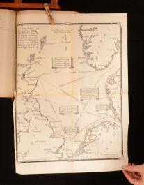 1915 Fleet Annual and Naval Yearbook Yexley Illus Folding Maps Very Scarce