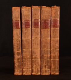 1786 5vol The New Foundling Hospital for Wit Fugitive Pieces John Almon