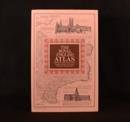 1971 The Royal English Atlas Eighteenth Century Maps Bowen Kitchin Illustrated