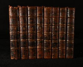 1741 The Eight Volumes of Letters Writ by a Turkish Spy Who Lived Five and Forty Years